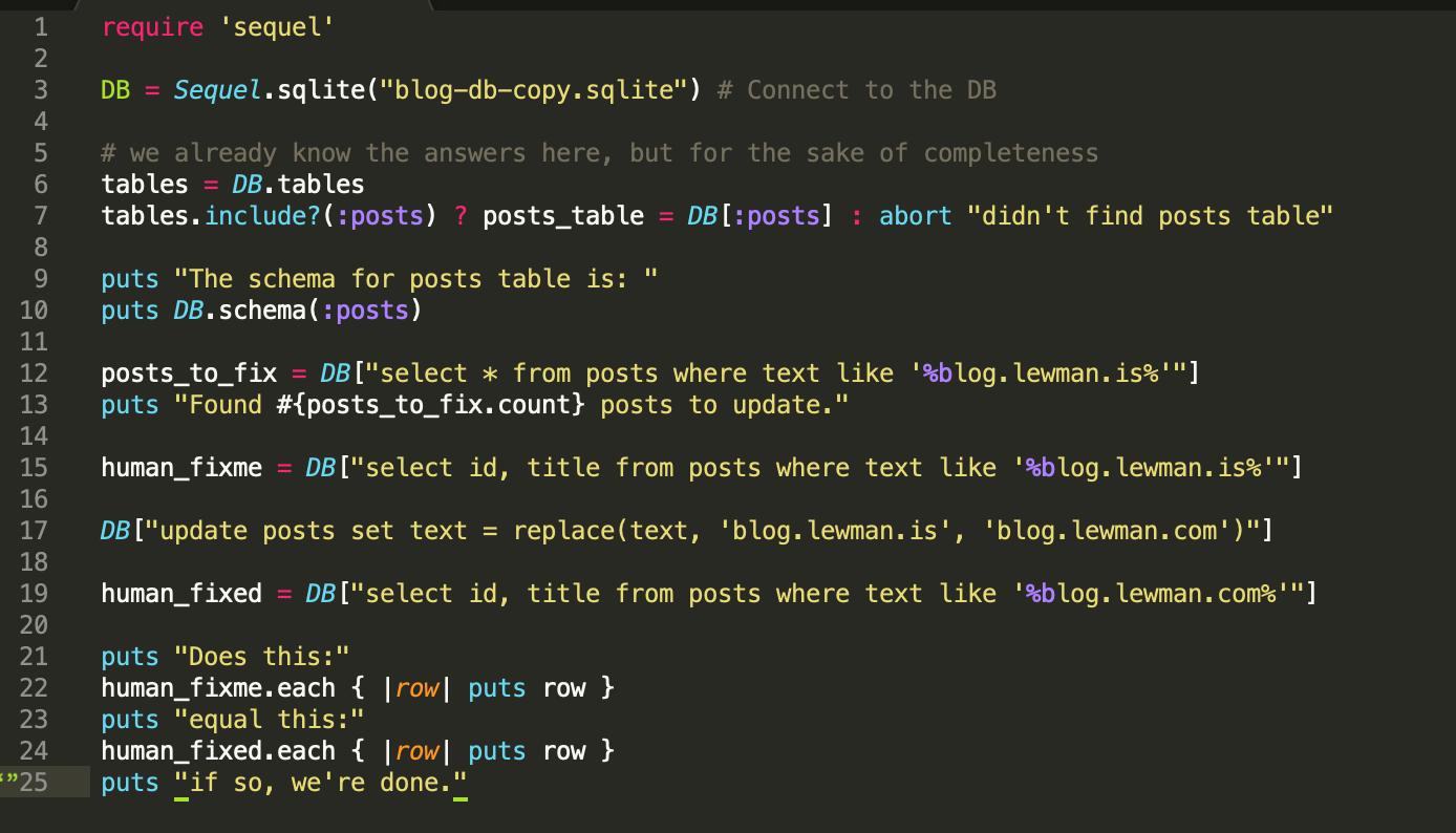 pretty colors source code