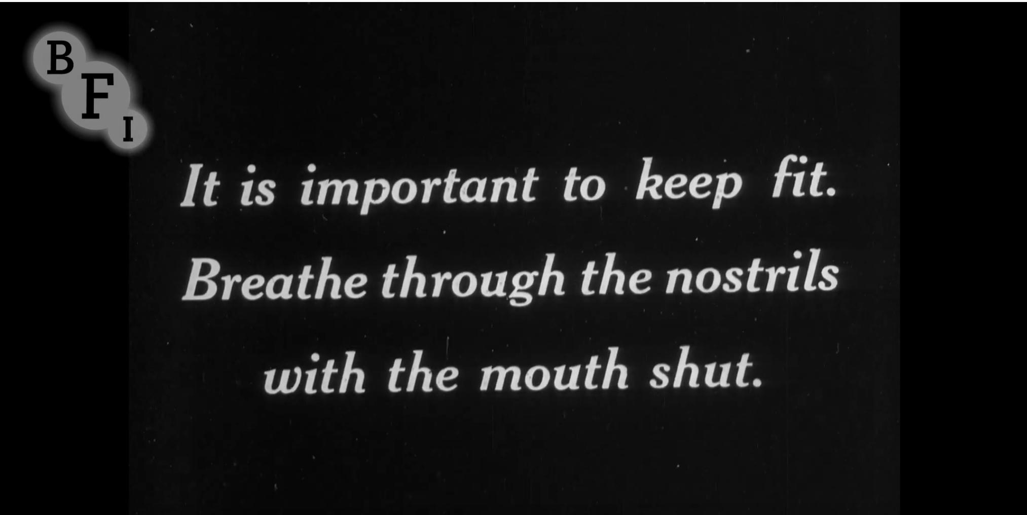 BFI 1919 Flu Pandemic Medical Advice
