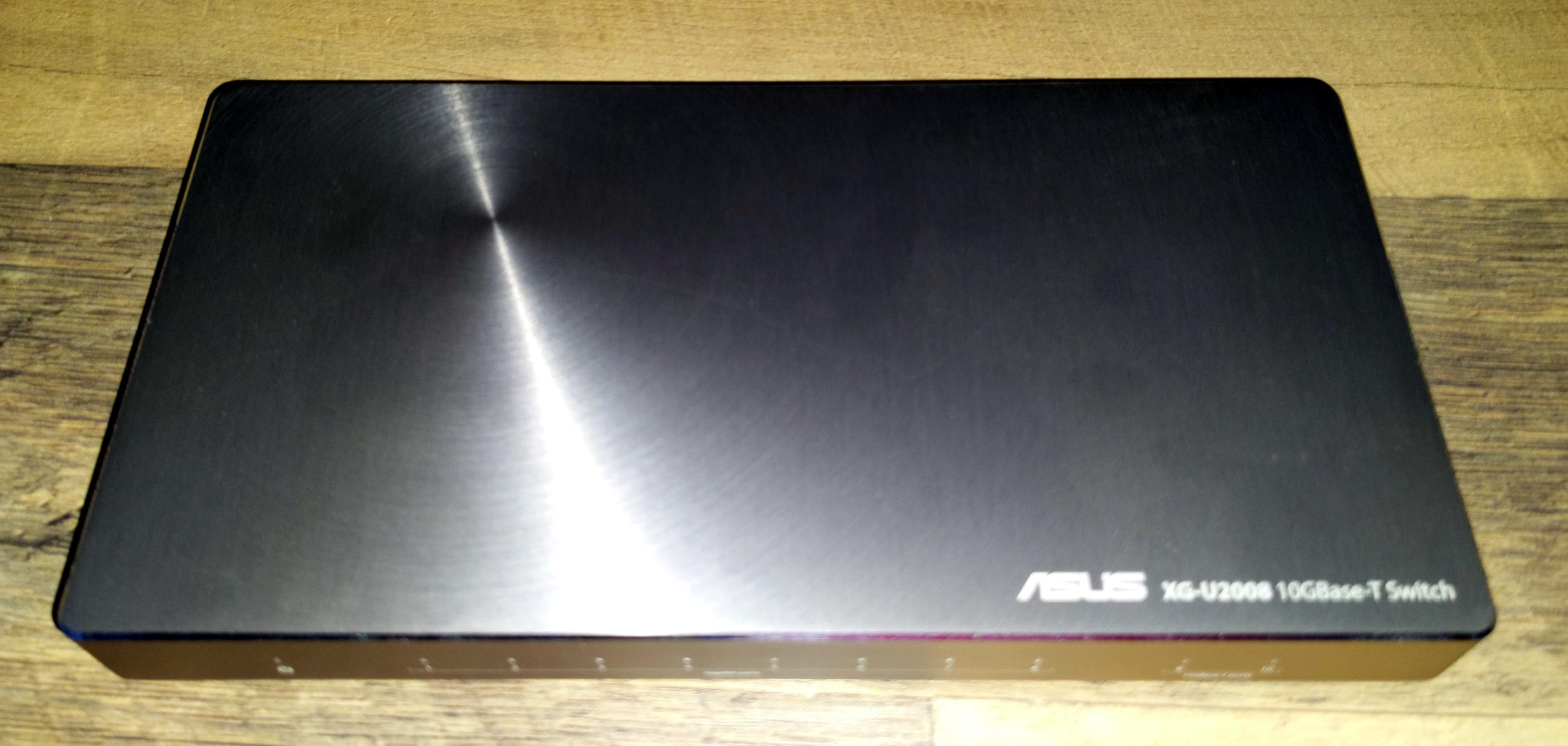 ASUS XG-U2008 network switch